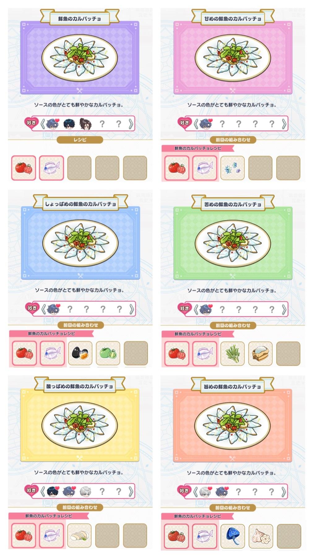 鮮魚のカルパッチョレシピ
