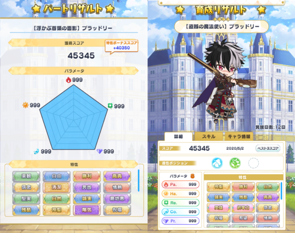 All999達成